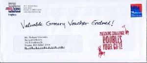 Hanbd Written envelope
