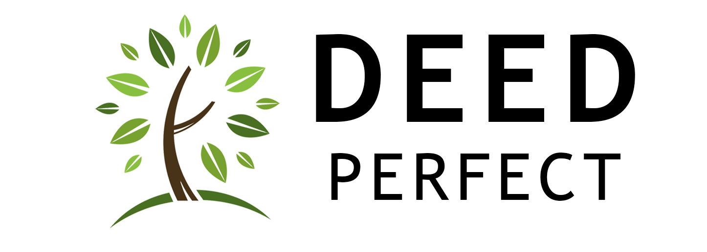 deedperfect.com logo create your own deed