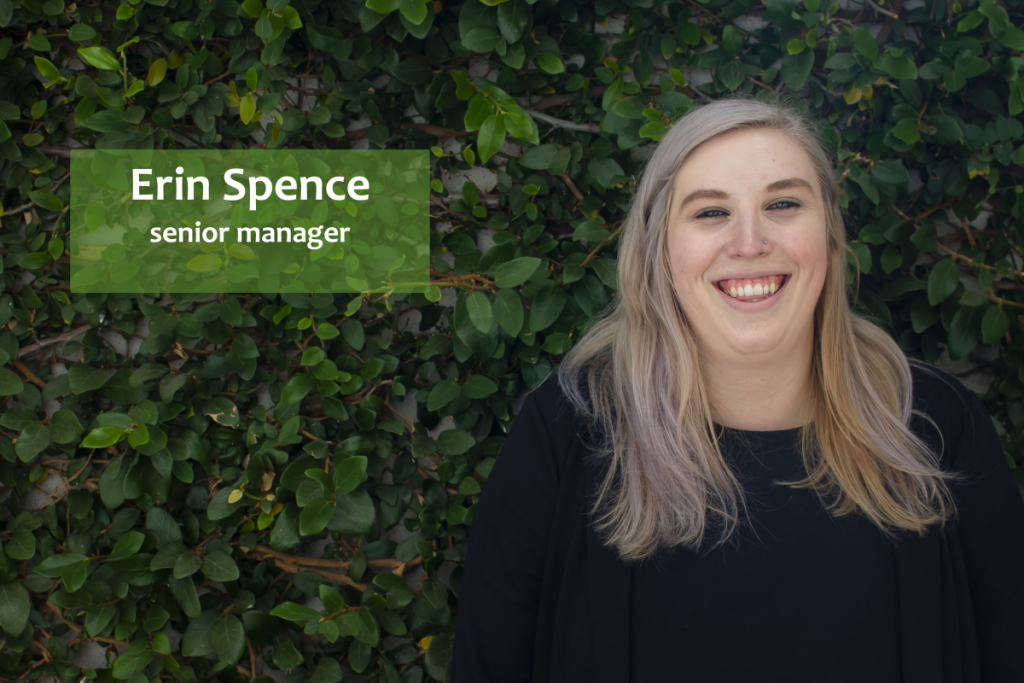 Erin Spence Senior Manager BuWit Land Academy