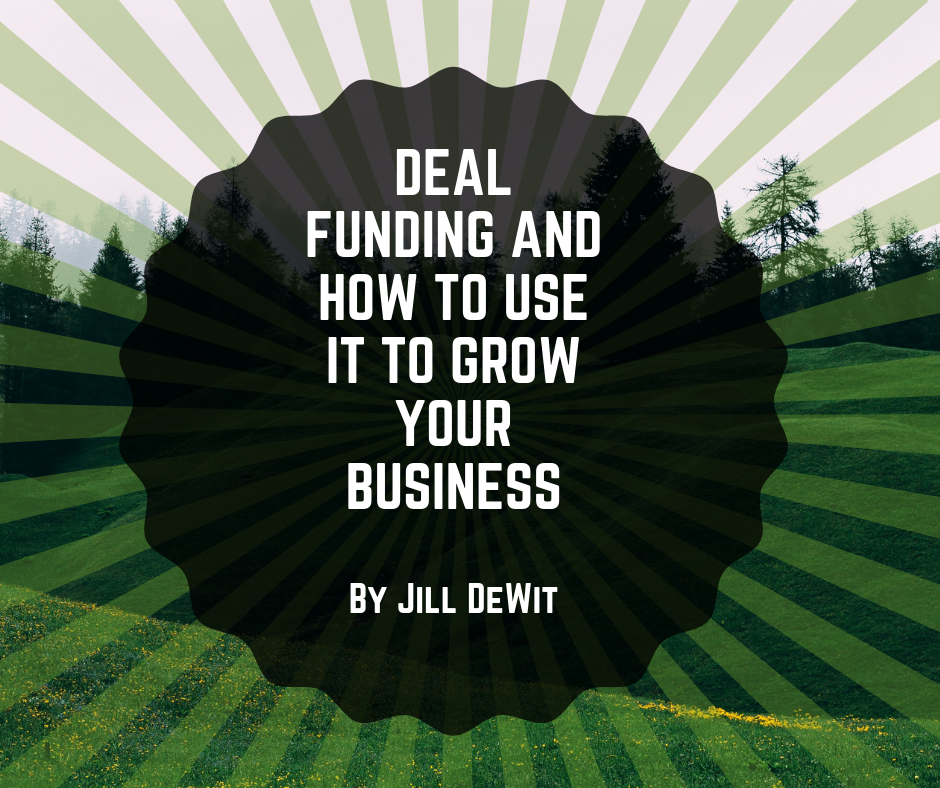 Land Investors Newsletter Deal Funding by Jill DeWit