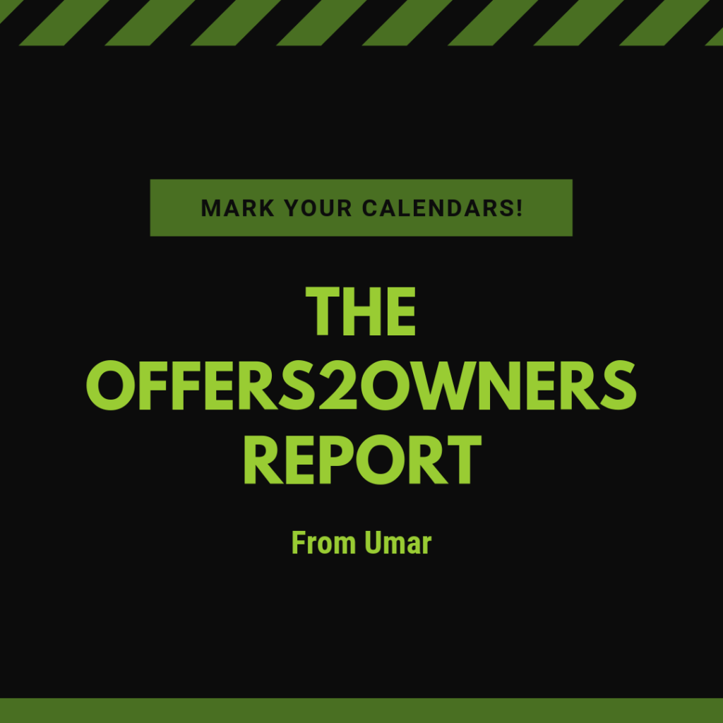 Land Investors Newsletter Offers2Owners Report by Umar