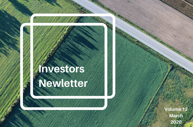 Land Academy Investors Newsletter